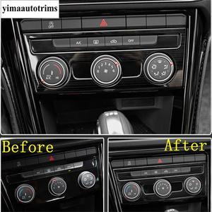 Image 4 - Yan kapı ses ses hoparlör/iç kol kase çerçeve paslanmaz çelik kapak Trim Volkswagen T Roc T Roc 2018   2021