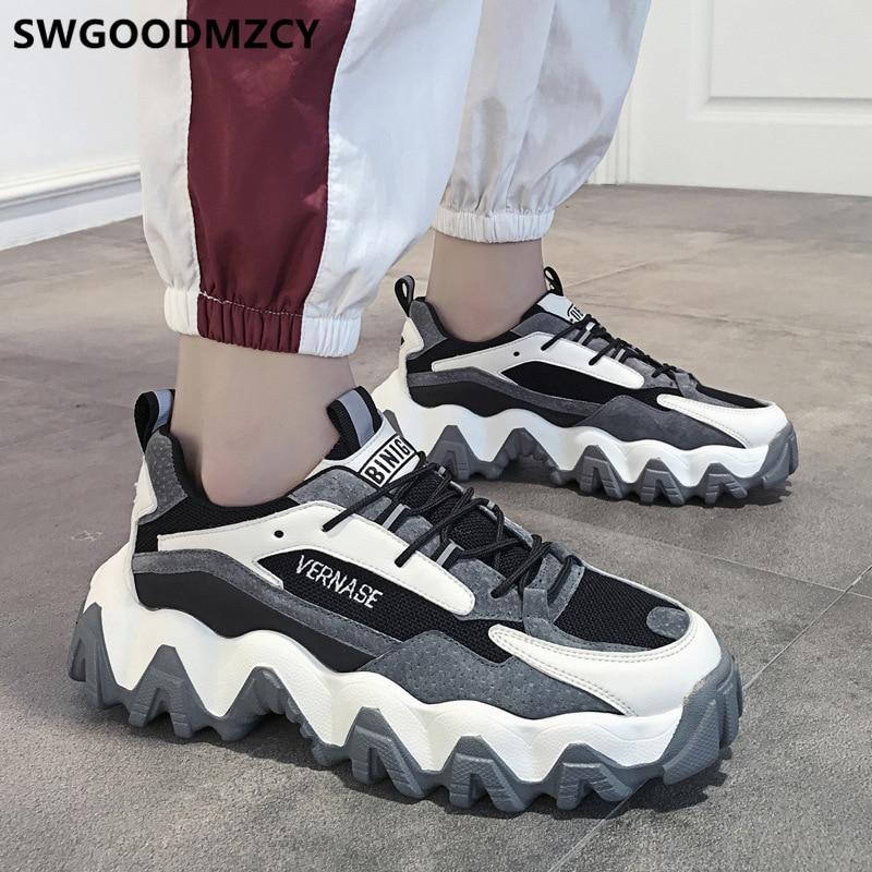Chunky Sneakers Men Dad Shoes Vulcanized Shoes Sport Shoes Men Platform Sneakers Men Fashion Zapatos De Hombre Schuhe Herren