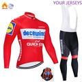 QUIKC STPE зимний теплый шерстяной велосипедный костюм 2020, мужской велосипедный костюм, открытый велосипедный костюм, MTB велосипед, одежда, комб...