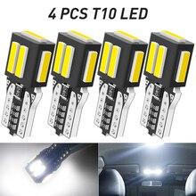 4Pcs T10 W5W CANBUS LED Lamp Auto Car Interior Light for Volvo XC60 XC90 S60 V70 S80 S40 V40 V50 XC70 V60 C30 850 C70 XC 60