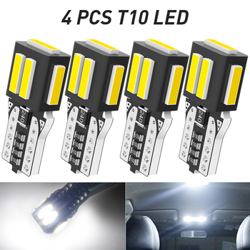 4Pcs T10 W5W CANBUS LED Lamp Auto Car Interior Light for Volvo XC60 XC90 S60 V70 S80 S40 V40 V50 XC70 V60 C30 850 C70 XC 60 image