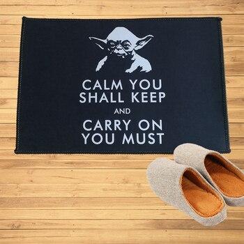 Felpudo de la Orden Jedi de Star Wars, Felpudo de Yoda, Felpudo de bienvenida para pasillo, puerta, Baño, Dormitorio, cocina, tapetes, alfombra, regalo