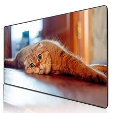 Mairuige большой коврик для мыши с животными милый кошкой аксессуары