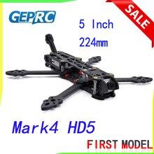 GEPRC Marco de cuadricóptero de estilo libre, marco de 5 pulgadas, 224mm, Mark4 HD5 para Sistema FPV Digital, unidad de aire FPV con soporte de antena