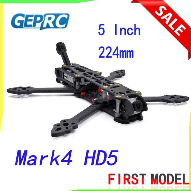 GEPRC Telaio 5 pollici 224 millimetri Mark4 HD5 Freestyle Quadcopter Telaio per il Digitale FPV Sistema per FPV Unità di Aria w/ Antenna Supporto
