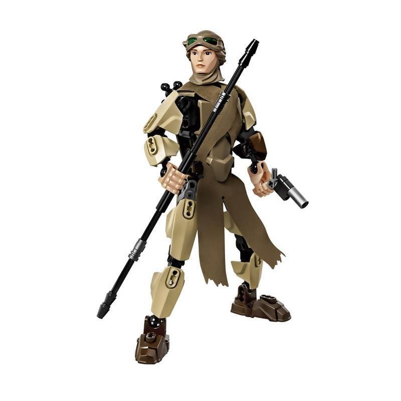 Star Wars Boba Fett Darth Maul Kylo Stormtrooper Phasma Ren Rey Vader Model Assemble Figure Construction Toys For Children 14