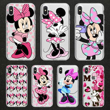 Cute cartoon couple phone Case for iPhone 11 Pro max 5S 6s 6 7 8 Plus X XR XS MAX TPU Silicone cover for huawei p20 p10 p30 lite(China)
