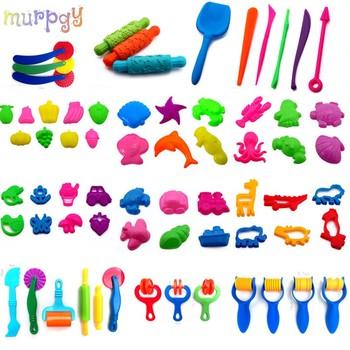Magic Sand Model Clay Tools DIY Indoor Plasticine Sand Castle Mold Building Dynamic Sand Soft Clay Slime Educational Toys Kit sand mold toys castle clay mold building model beach toys for kids child baby r9ue