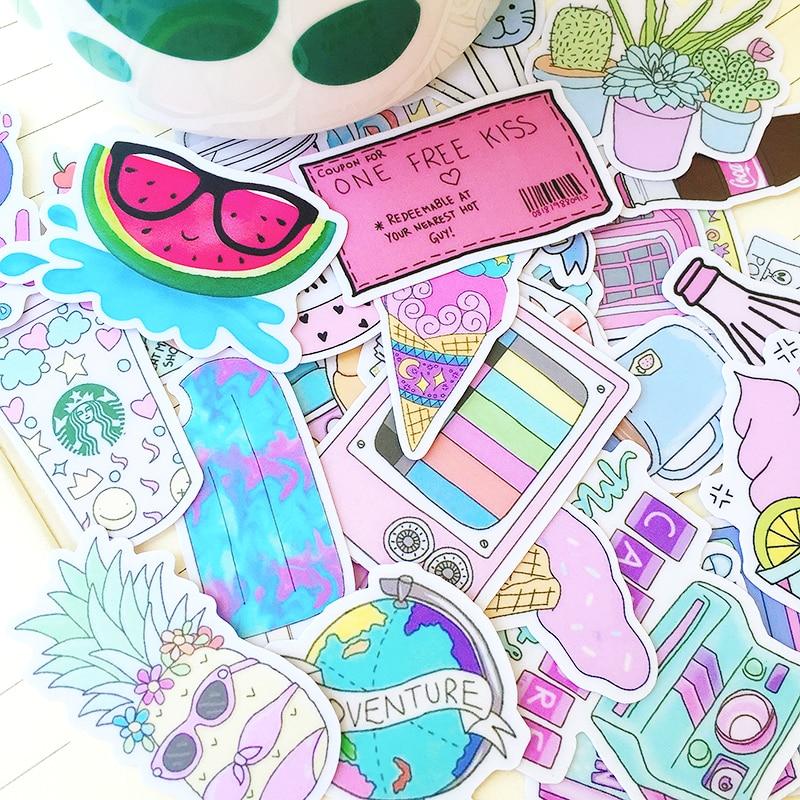 31 Uds chica suave rosado lindo artículos pegatinas scrapbooking DIY álbum diario planificador feliz semana pegatinas decorativas