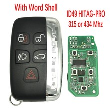 Datong World per Land Rover Discovery Freelander 315Mhz 434Mhz ID49 HITAG PRO Auto Smart Keyless Entry Promixity Key With Word
