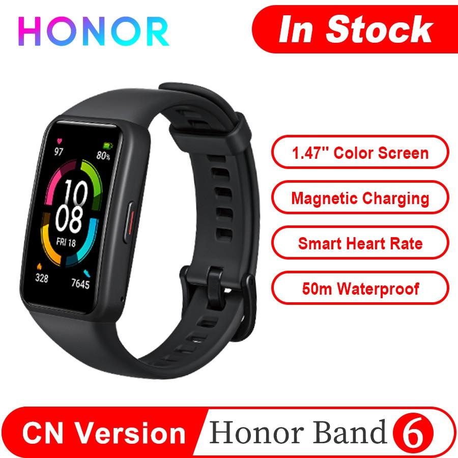Honor Band 6 NFC STD умный Браслет 1,47 ''amoled Цвет полный сенсорный экран мониторинга сердечного ритма мониторинг сна стресс браслет для занятий спорт...
