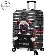 New Thicker 3D Travel Suitcase Protective Cover Luggage Case Elastic Luggage Dust Cover Apply To 18~32 Password Box Covers july s song new suitcase elastic dust cover luggage case for 18 32 inch password box trolley case cat pattern protective cover