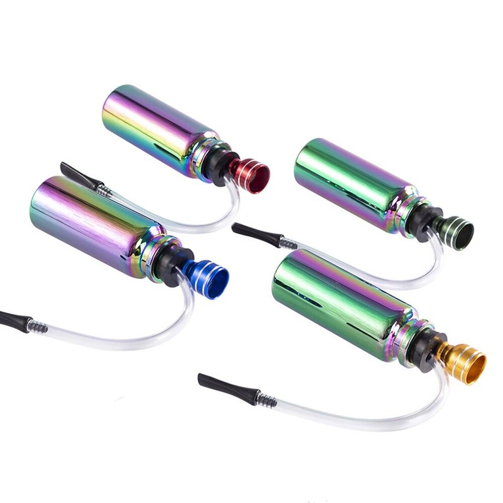 1pc Portable Herb Smoking Pipe Mini Water Bong Glass Water Pipe Hookah Shisha Tobacco Smoking Pipes 6