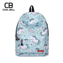 School Bags For Teenager Unicorn Backpack Bag Sport Travel Women Casual Girls Schoolbag Gift