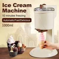 Ice cream Machine Fully Automatic Mini Fruit Ice Cream Maker for Home Electric DIY Kitchen Household Use Fruit Dessert Machine