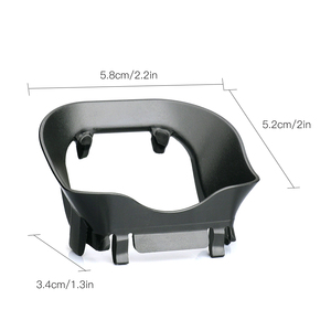 Image 3 - Lens Hood parlama önleyici Gimbal Lens kapağı güneşlik koruyucu kapak yok ölü açı DJI Mavic Mini aksesuarları