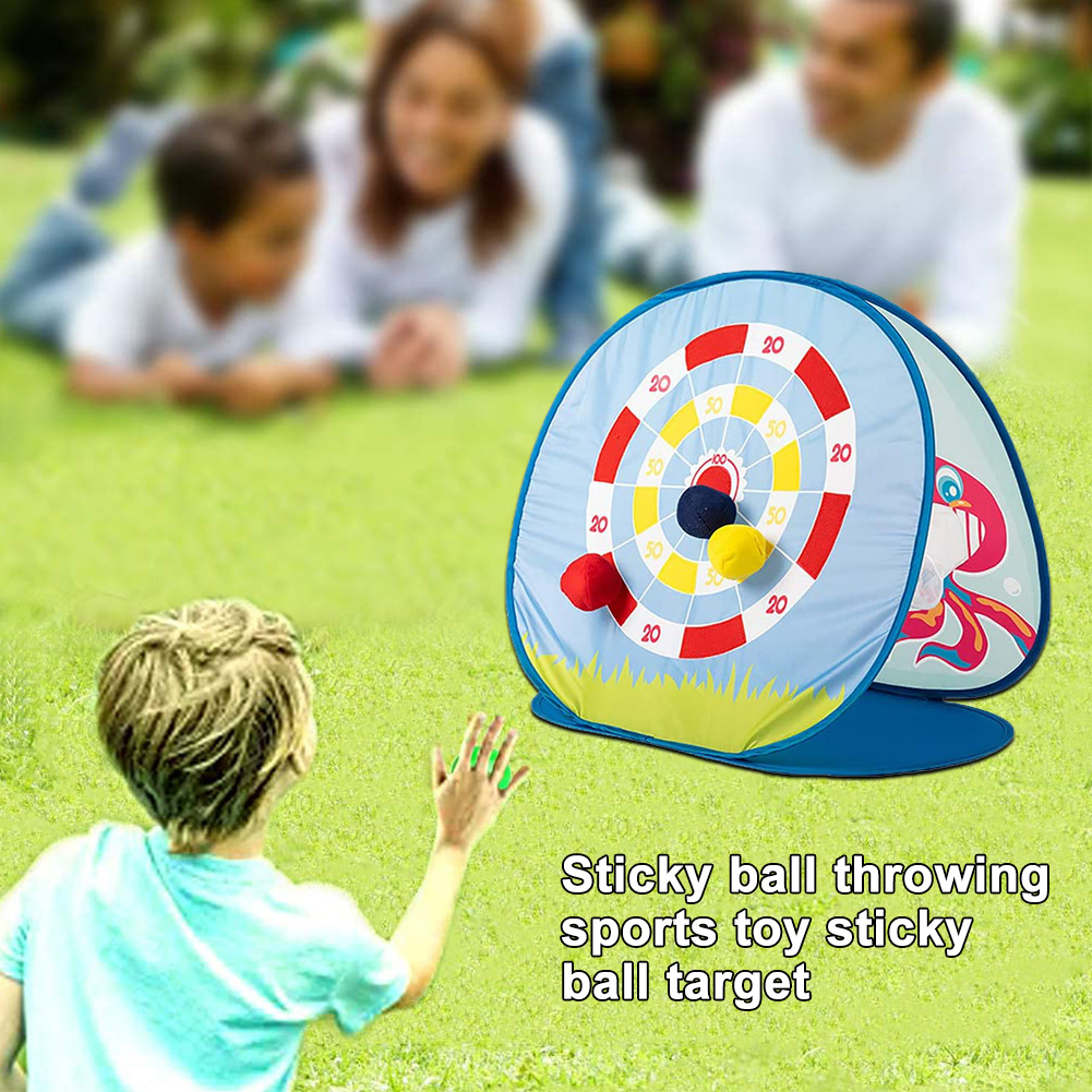 Collapsible Sports For Kids Toddlers Party Indoor Outdoor Throwing Toss Game Toy Bean Bag Double Sided Family Cornhole Board