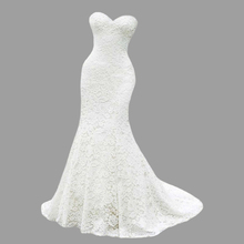 Robe Wedding-Dress Elegant Vintage Luxury Lace White Full De-Mariage Cheap