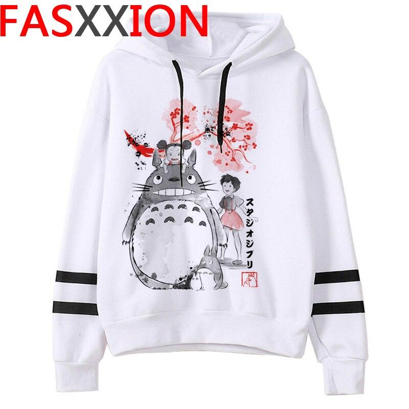 Totoro Studio Ghibli hoodies women streetwear grunge femme hoody sweatshirts hip hop streetwear 16
