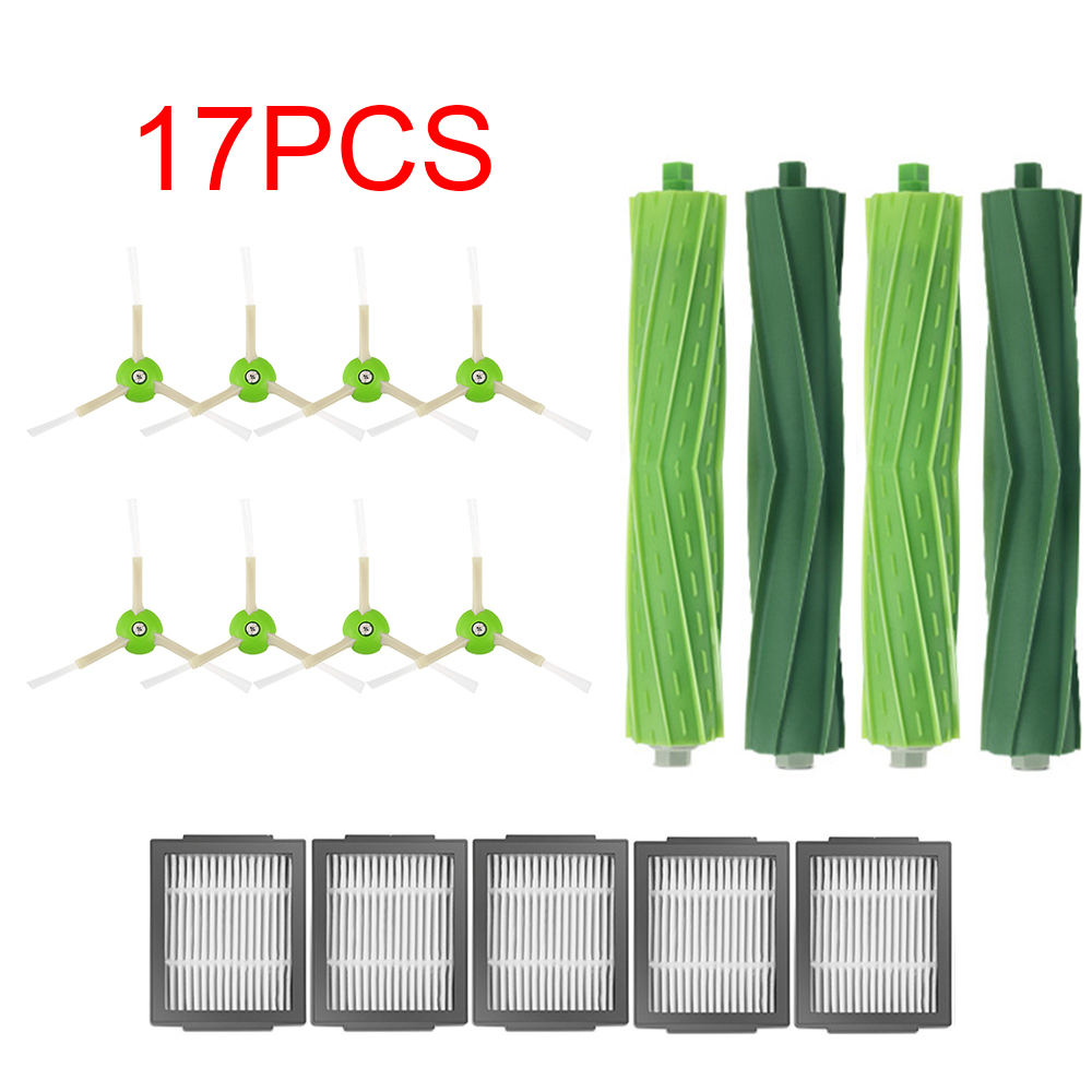 Accessories Replacement Side Brush&Hepa Filters&Roller Brush For IRobot Roomba I7 I7+/i7 Plus E5 E6 E7 Vacuum Cleaner Parts