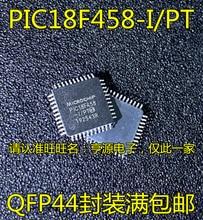 Frete grátis pic18f458 PIC18F458-I/pt qfp44/10 peças