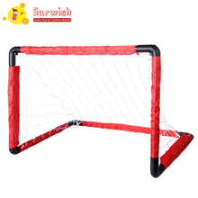 2019 New Portable Folding Goal Kids Football Net Football Door Set Football Gate Toy Games For Children- S/L jim jr smith football s true smash mouth offense robust football