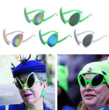 Impreza z okazji Halloween rekwizyty tęczowe soczewki ET okulary przeciwsłoneczne śmieszne kosmici kostiumy damskie okulary dla dorosłych i dzieci tanie tanio CN (pochodzenie) Jeden rozmiar Mężczyźni Kobiety Unisex MULTI