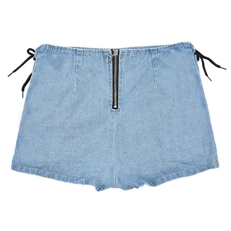 2  women denim shorts
