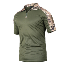 Nice Summer Tactical Camouflage T Shirt Men Quick Dry Military Uniform T-Shirt Breathable Wicking Army Combat Tee Shirts