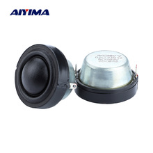 AIYIMA 1.25 Inch Dome Silk Tweeter Speaker Units 8 Ohm 50W Wide Frequency Strong Magnetic Treble Mini Loudspeaker 34MM 2PCS