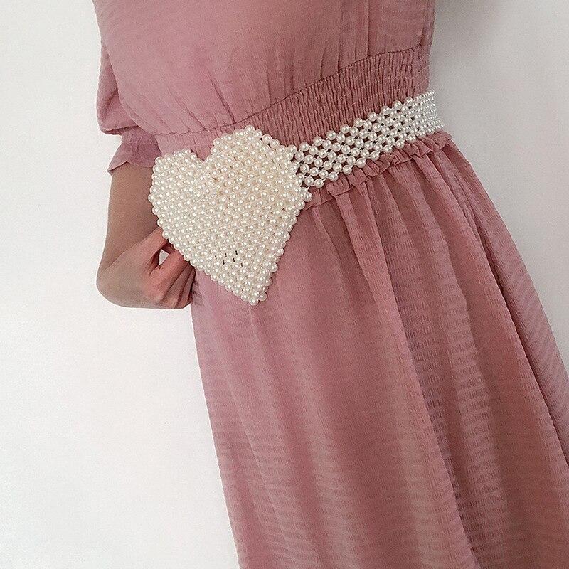 amor artesanal com contas coração bolsa ins pequenos bolsos