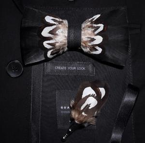 Image 4 - Ricnais lot de broches à nœud papillon