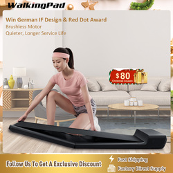 WalkingPad Treadmill Walk A1 Pro Under Desk Folding Device Quiet Walking Pad Footstep Control Speed Workout Home