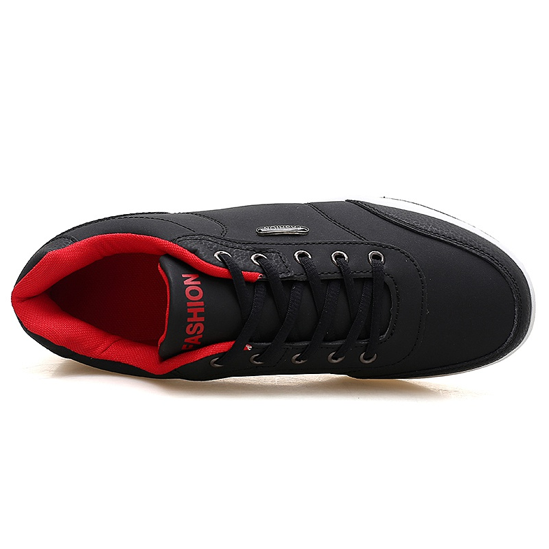 Men's Winter Sneakers PU Leather 4