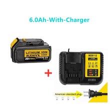 Dewalt – batterie de remplacement pour outils électriques, 18V, 6,0 ah, MAX XR, 20 V, 5a, DCB184, DCB181, DCB182, DCB200