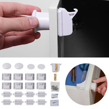 5/10/15/20Pcs Magnetic Child Lock Children Protection Invisible Lock Baby Home Cabinet Locks Multifunction Baby Safety Equipment