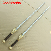 Martial art Double whip wushu Self defense weapon chinese kung fu Portable vehicle Stainless steel Home Defense send bag