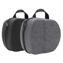 Bolsa eva dura portátil capa protetora saco de armazenamento caixa de transporte para oculus quest 2 vr fone de ouvido e acessórios