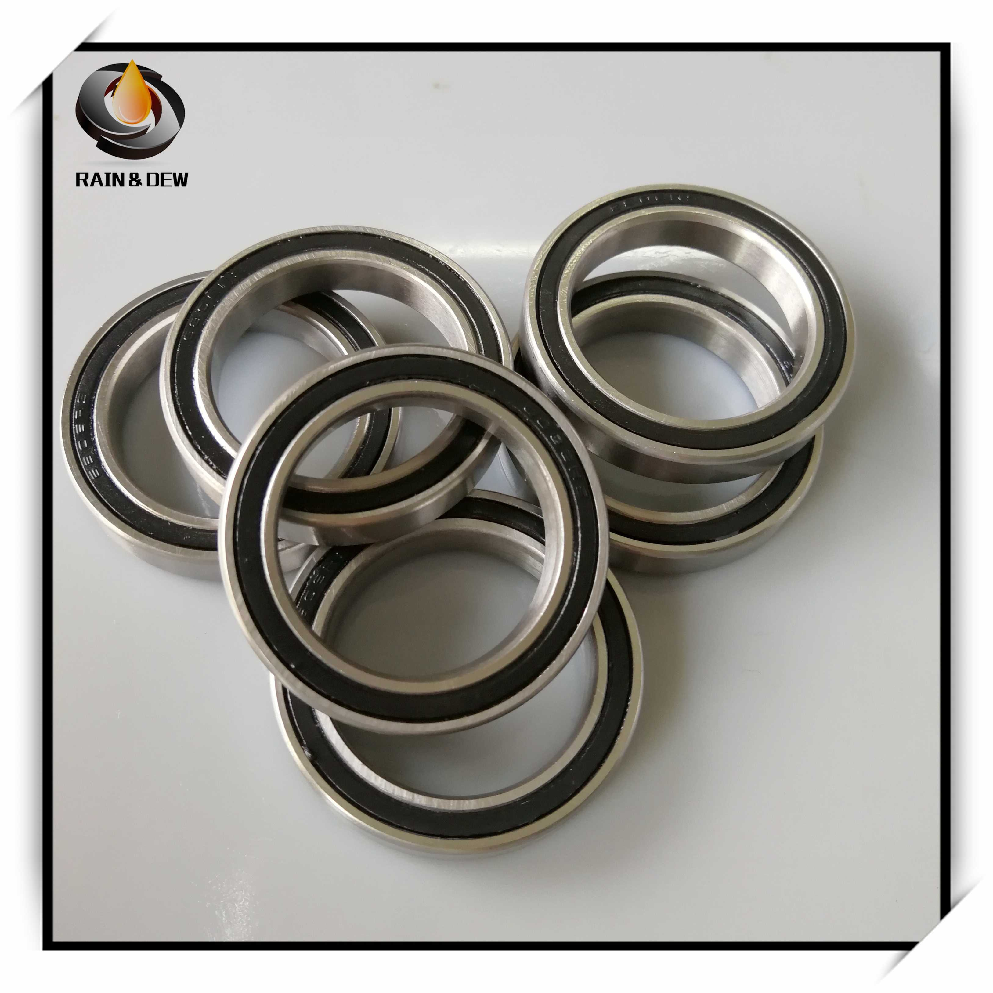 Pack of 2 6805 61805 25x37x7mm 2RS Thin Section Deep Groove Ball Bearing