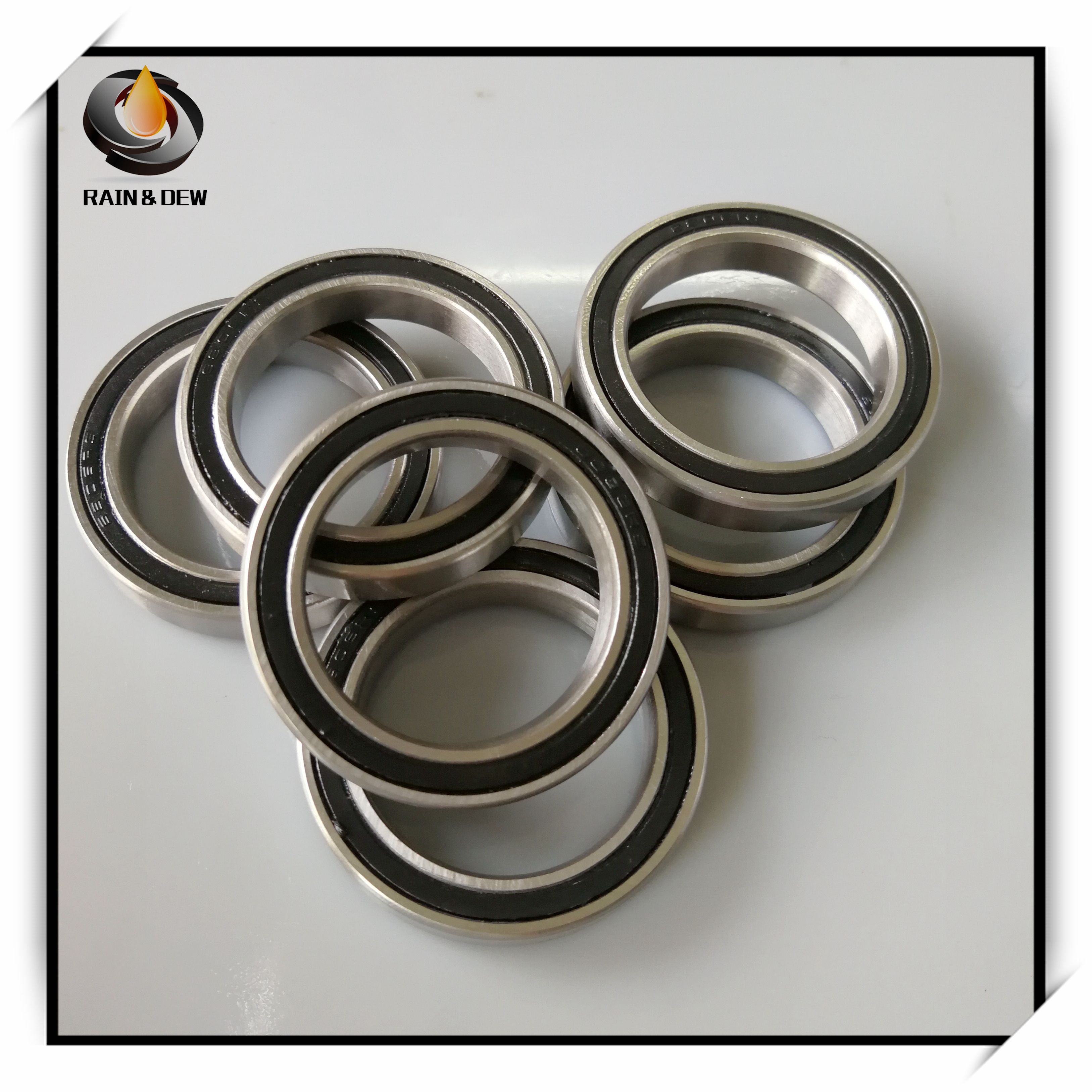 10Pcs <font><b>6805</b></font> 2RS Bearing 25*37*7 mm ABEC-7 Metric Thin Section 61805RS <font><b>6805</b></font> <font><b>RS</b></font> Ball Bearings 6805RS image
