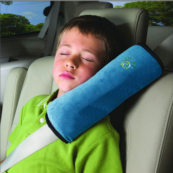 Baby Soft Car Auto Pillow Safety Seat Belt Harness Shoulder Pad Cover Children Protection Covers Cushion Support Pillow image