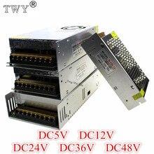 Импульсный источник питания 110 В/220 В до 5 в 12 В 24 в 36 в 48 в 40A 80A светодиодный блок питания CCTV/светодиодный адаптер питания от переменного до пос...