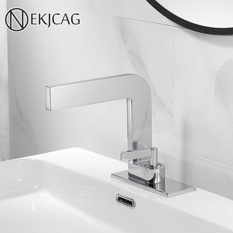 Basin Faucet Bathroom Deck Mounted
