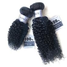 RAIPONCE Afro Kinky Curly Hair Bundles Deals  Brazilian Human Hair Weaves Bundles