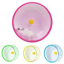 Pet Hamster Mouse Rat Exercise Silent Running Spinner Wheel Cage Playing Toy Rodent Mice Jogging Ball Gerbil