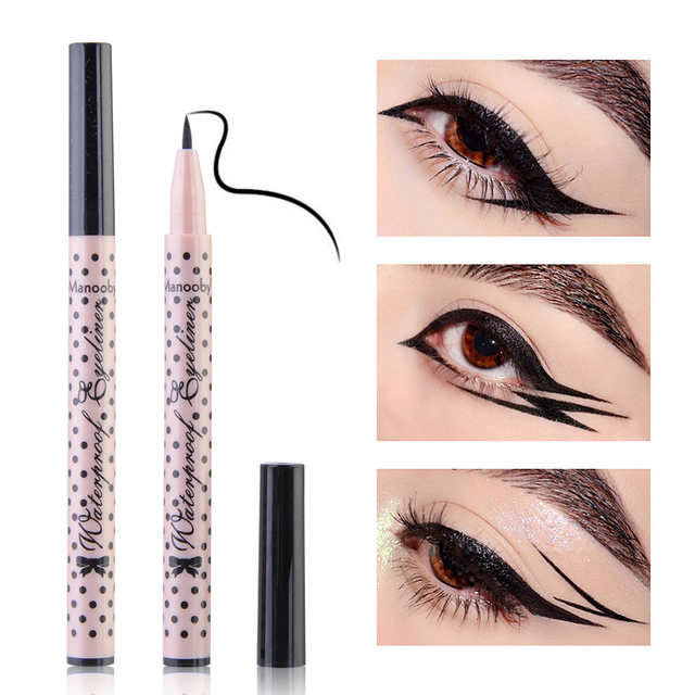 1 Pc Black Liquid Eyeliner Pen Waterproof Long Lasting Eye Liner Pencil Quick Dry Eye Makeup Cosmetics Tools Dropshipping 2