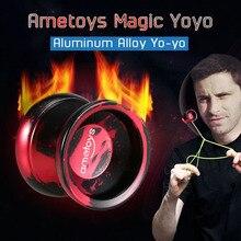 Professional Yoyo Kk-Bearing Classic Toys Spinning-String Aluminum-Alloy Kids with