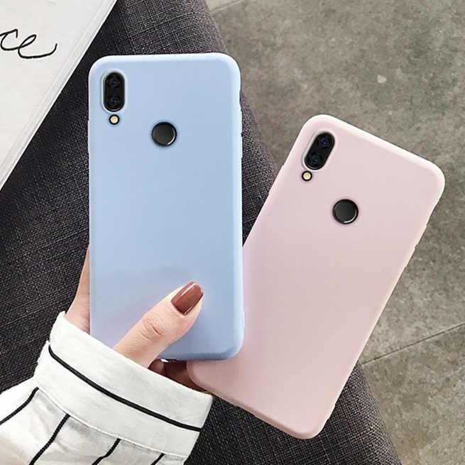 Encantador lindo caso del TPU para el caso de Xiaomi Redmi Note 7 8 7A 6 6A 5 5A 4 4X K20 Pro Plus funda de silicona suave Ultra fina colorida 4A Go