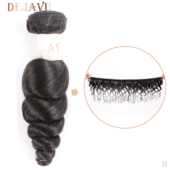 Dejavu Loose Wave Bundle Peruvian Non-Remy 100% Human Hair Bundle 1 Piece 30 Inch Bundle For Black Women Free Shipping Cabelo фото
