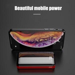 Image 3 - חם כוח בנק 30000mAh Powerbank מטען LED הכפול Usb יציאות חיצוני סוללה Poverbank נייד עבור iPhone 7 8 x שיאו mi mi